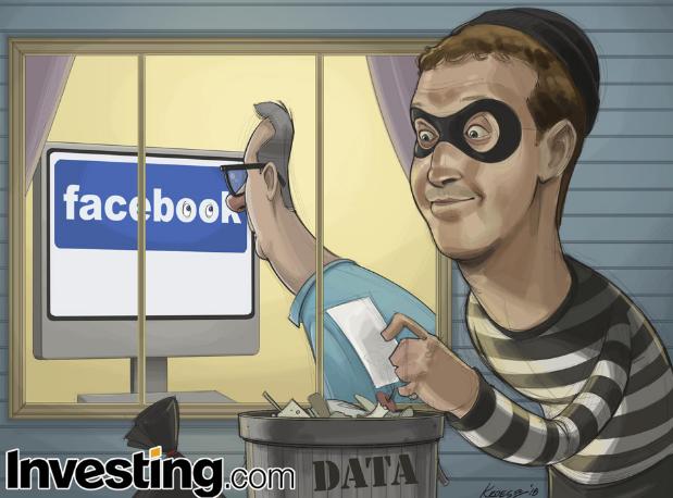 페이스북 개인정보 유출 사태로 주식 급락