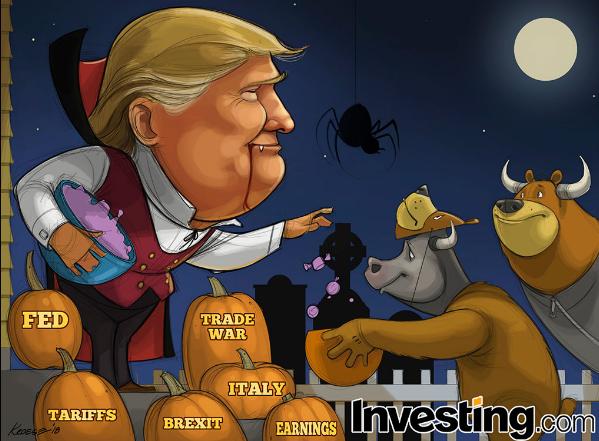 황소와 곰들의 트릭 오어 트릿 타임