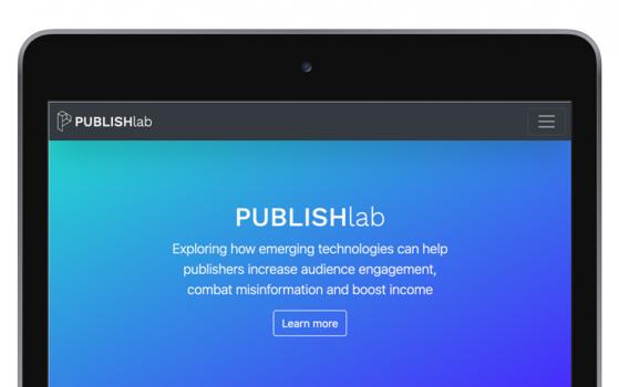 퍼블리시랩(PUBLISHLAB), 뉴스 추천·블록체인 인덱스 등 4개 혁신 프로토타입 공개