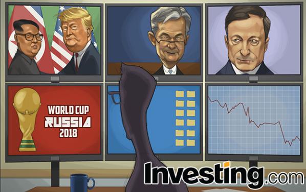 트럼프/김 정상회담, 연준, ECB, 월드컵